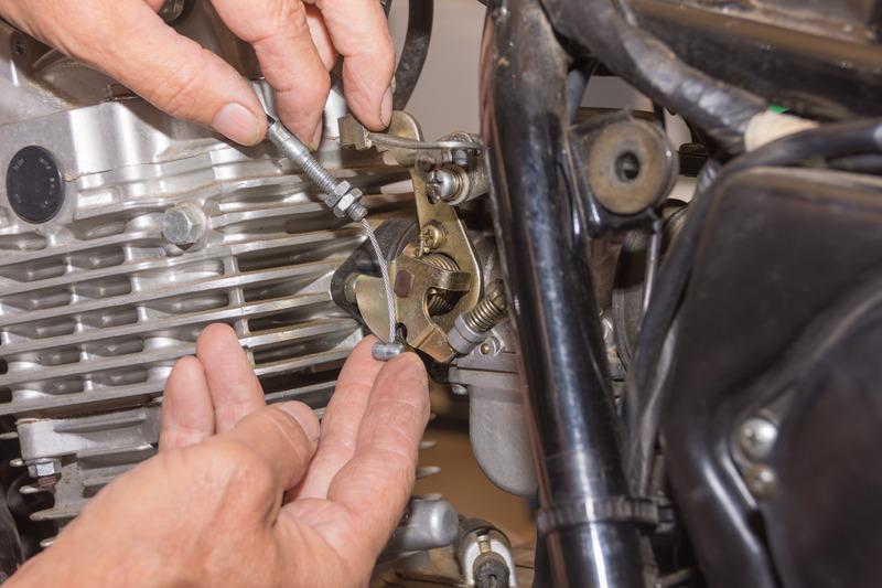 filtro e carburatore moto